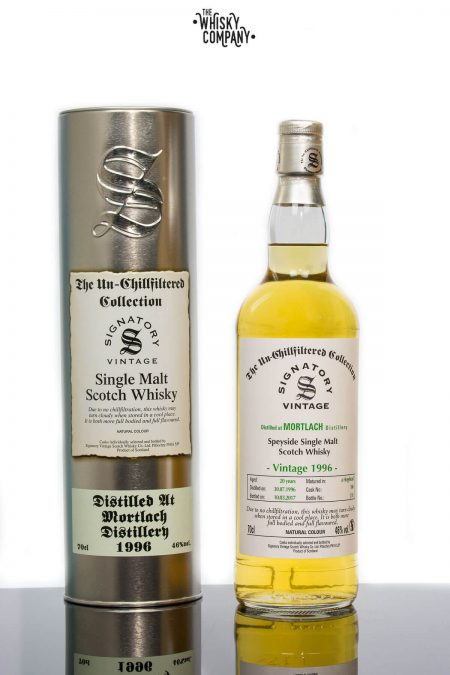 Mortlach 1996 Aged 20 Years Single Malt Scotch Whisky - Signatory Vintage (700ml)