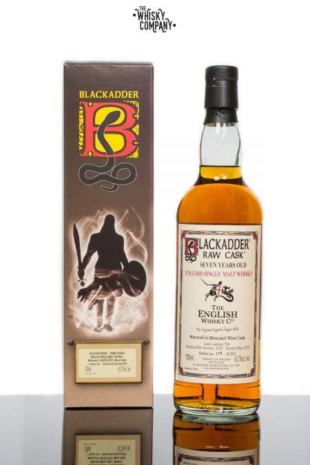 Blackadder Raw Cask Aged 7 Years English Single Malt Whisky