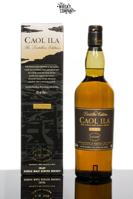 Caol Ila 2004 Distillers Edition Islay Single Malt Scotch Whisky (700ml)