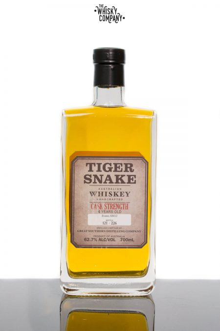 Tiger Snake Cask Strength Aged 6 Years Small Batch Australian Whiskey (700ml)