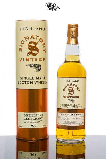 Glen Grant 1997 Aged 19 Years Single Malt Scotch Whisky - Signatory Vintage (700ml)