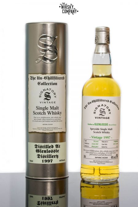 Glenlossie 1997 Aged 20 Years Single Malt Scotch Whisky - Signatory Vintage (700ml)