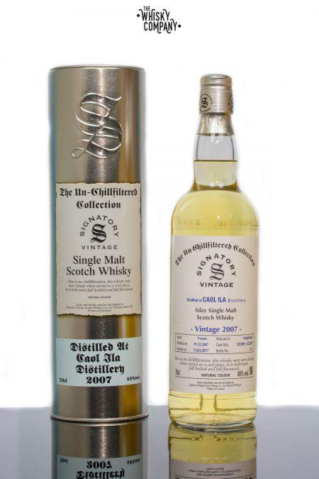 Caol Ila 2007 Aged 9 Years Single Malt Scotch Whisky - Signatory Vintage (700ml)
