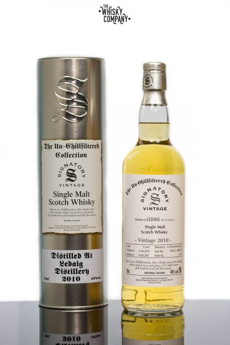 Ledaig 2010 Aged 6 Years Single Malt Scotch Whisky - Signatory Vintage (700ml)