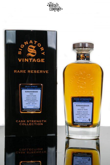Bunnahabhain 1973 Aged 42 Years Old Single Malt Scotch Whisky - Signatory Vintage (700ml)