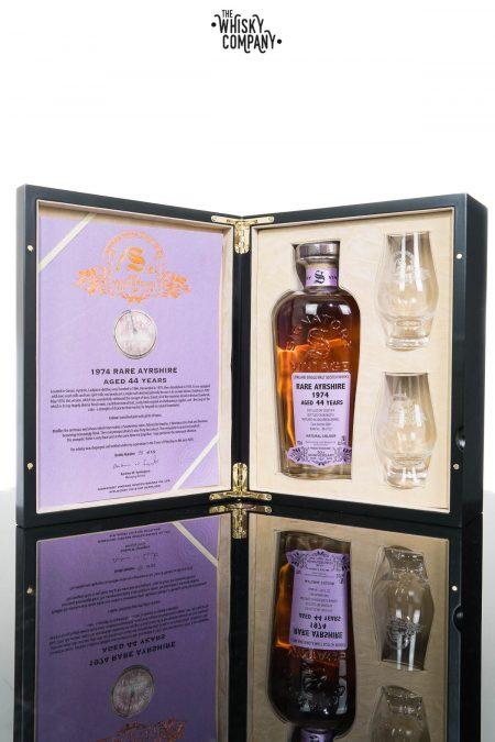 Rare Ayrshire (Ladyburn) 1974 Aged 44 Years Single Malt Scotch Whisky - Signatory Vintage 30th Anniversary (700ml)