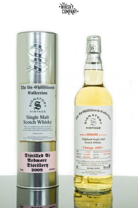 Ardmore 2009 Aged 8 Years Single Malt Scotch Whisky - Signatory Vintage (700ml)