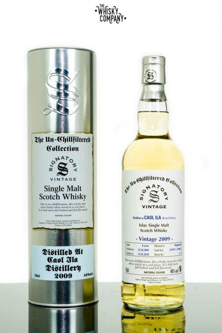 Caol Ila 2009 Aged 8 Years Single Malt Scotch Whisky - Signatory Vintage (700ml)