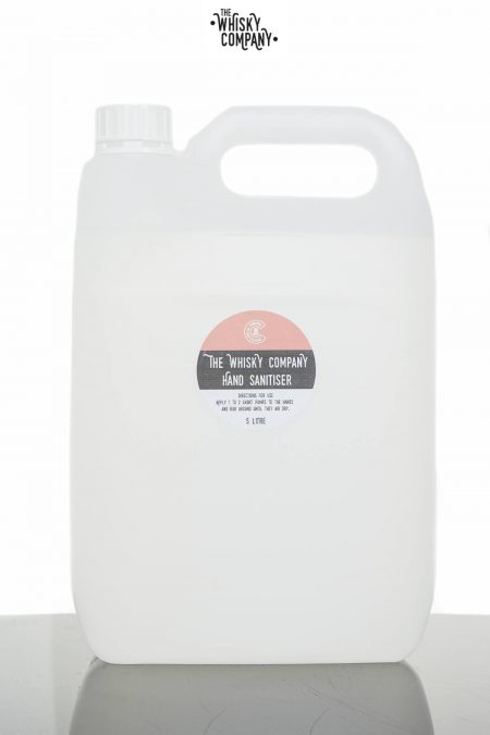 The Whisky Company Liquid Hand Sanitiser Bulk (5 Litre)