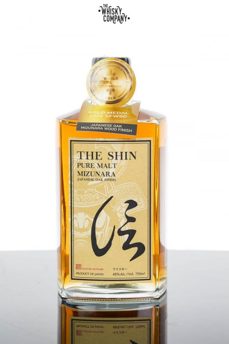 The Shin Japanese Malt Whisky Mizunara Oak Finish (750ml)