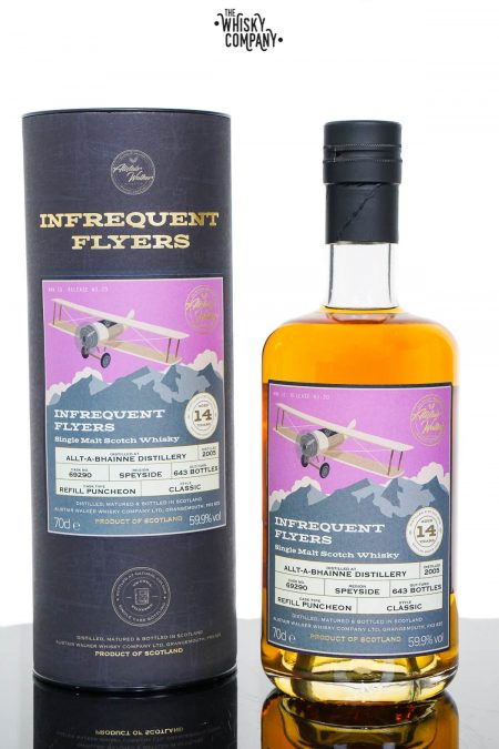 Allt-A-Bhainne 2005 Aged 14 Years Single Malt Scotch Whisky - Infrequent Flyers #20 (700ml)