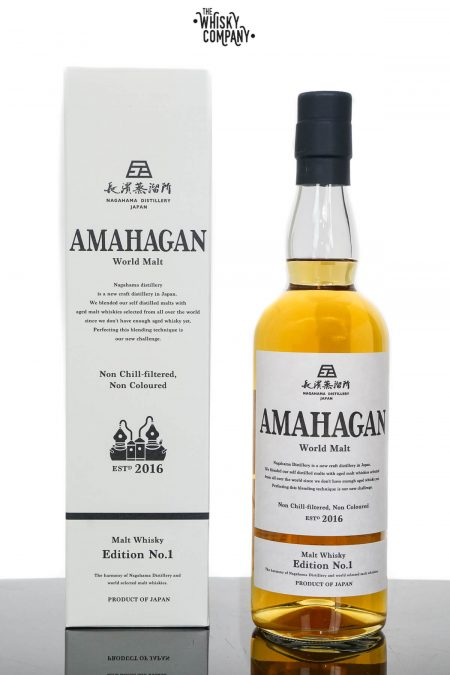 Amahagan World Malt Edition No.1 Japanese Malt Whisky (700ml)