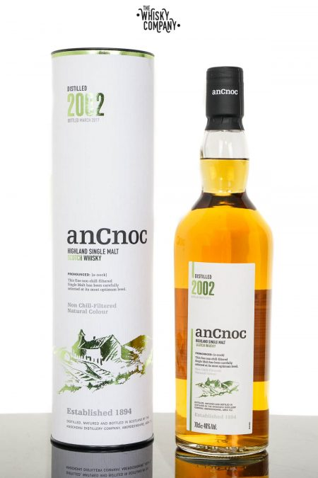anCnoc 2002 Highland Single Malt Scotch Whisky (700ml)
