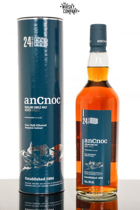 anCnoc 24 Years Old Highland Single Malt Scotch Whisky (700ml)