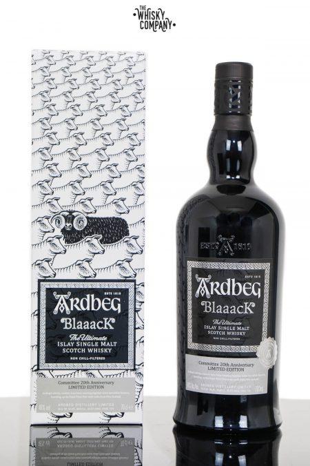 Ardbeg Blaaack Islay Single Malt Scotch Whisky - 20th Anniversary Committee Limited Edition (700ml)