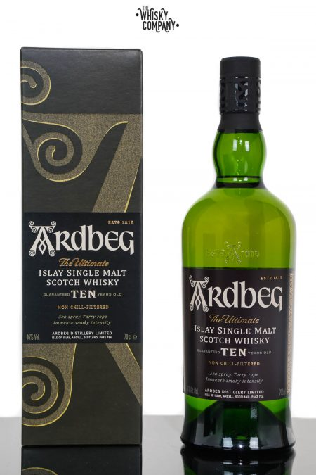 Ardbeg Ten Islay Single Malt Scotch Whisky (700ml)