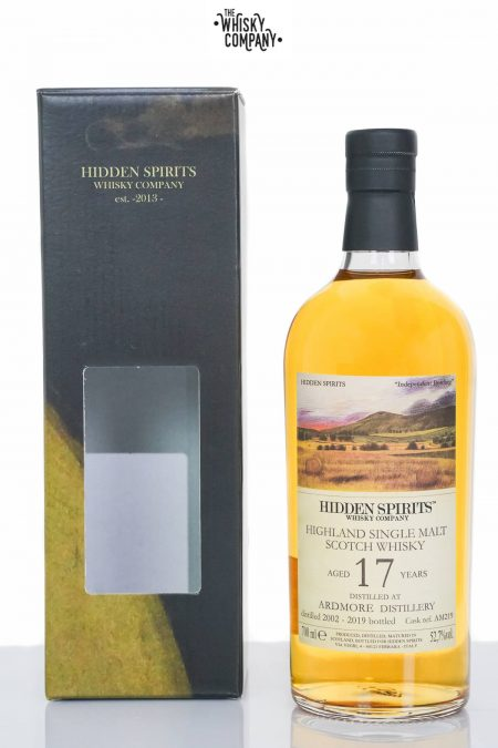 Ardmore 2002 Aged 17 Years Single Malt Scotch Whisky - Hidden Spirits (700ml)