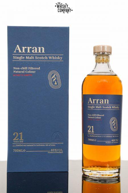 Arran 21 Years Old Island Single Malt Scotch Whisky (700ml)