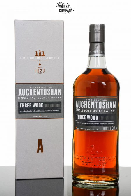 Auchentoshan Three Wood Single Malt Scotch Whisky (700ml)