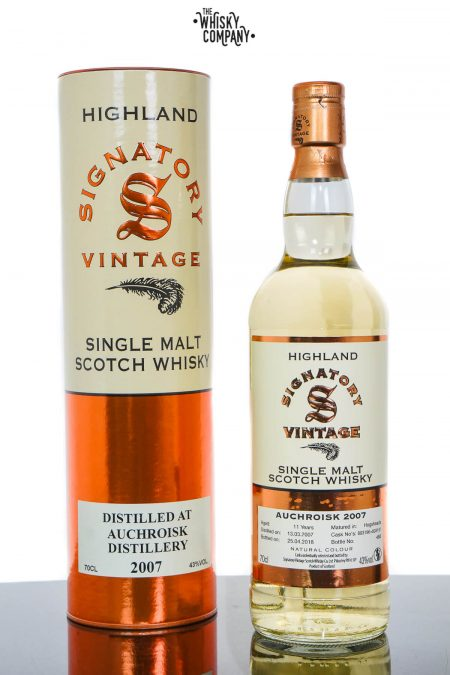 Auchroisk 2007 Aged 11 Years Highland Single Malt Scotch Whisky - Signatory Vintage (700ml)