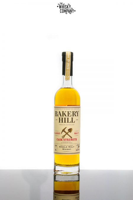 Bakery Hill Classic Malt Cask Strength Australian Single Malt Whisky (500ml)
