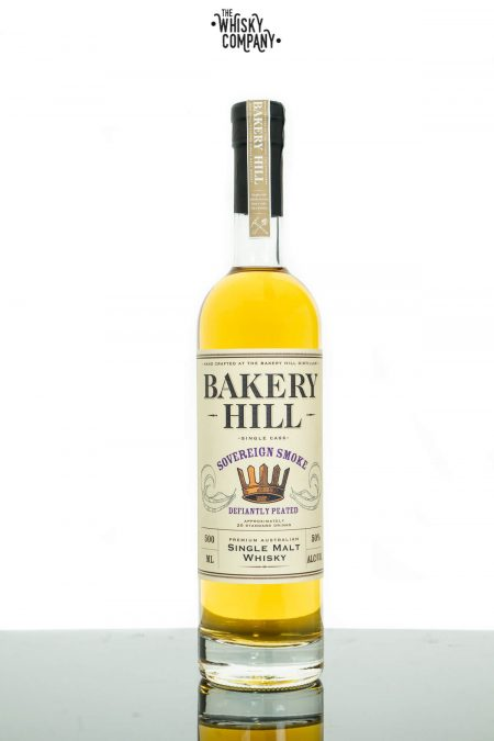 Bakery Hill Sovereign Smoke Limited Edition Australian Single Malt Whisky (500ml)