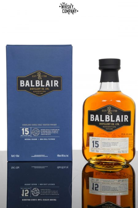Balblair 15 Years Old Single Malt Scotch Whisky (700ml)