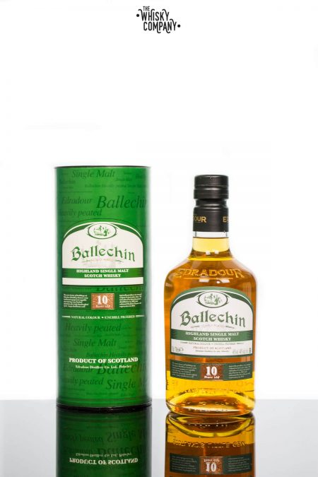 Ballechin Heavily Peated 10 Years Old Highland Single Malt Scotch Whisky (700ml)