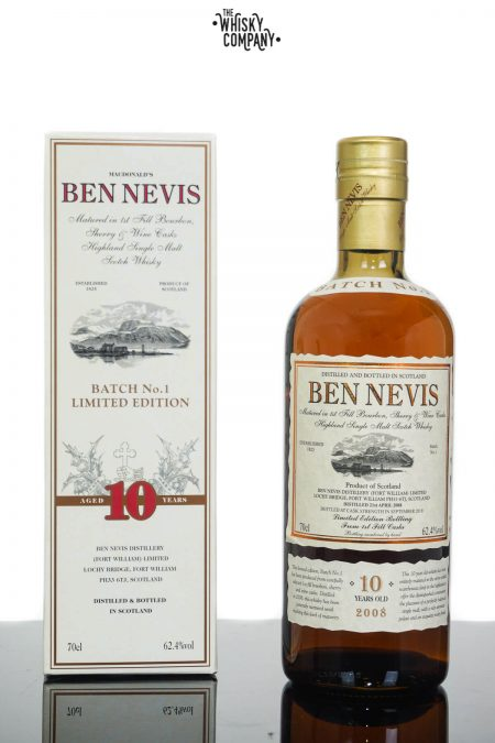 Ben Nevis 10 Years Old Cask Strength Batch 1 Single Malt Scotch Whisky (700ml)