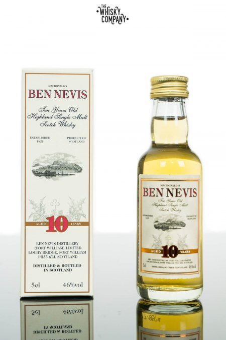 Ben Nevis 10 Years Old Highland Single Malt Scotch Whisky (50ml)