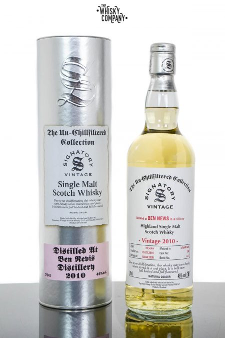 Ben Nevis 2010 Aged 10 Years Highland Single Malt Scotch Whisky - Signatory Vintage (700ml)