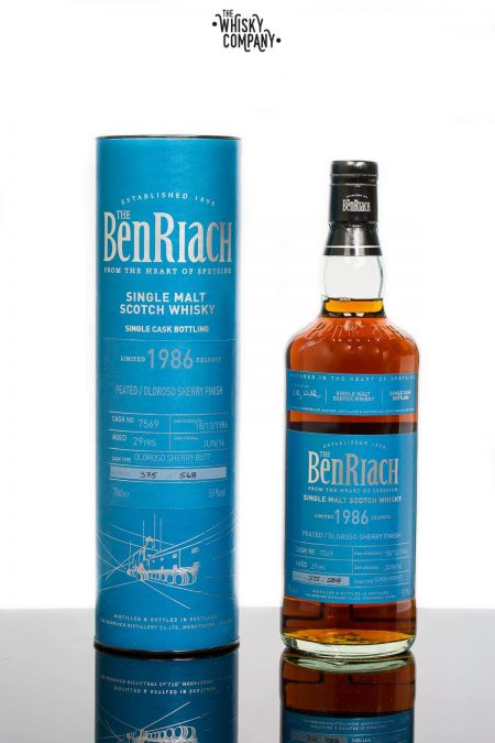 Benriach 1986 Aged 29 Years Single Cask 7569 Batch 13 Speyside Single Malt Scotch Whisky (700ml)