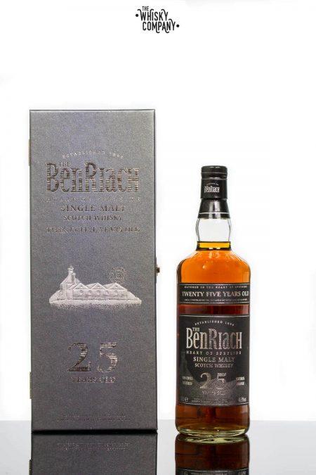 BenRiach 25 Years Old Speyside Single Malt Scotch Whisky (700ml)