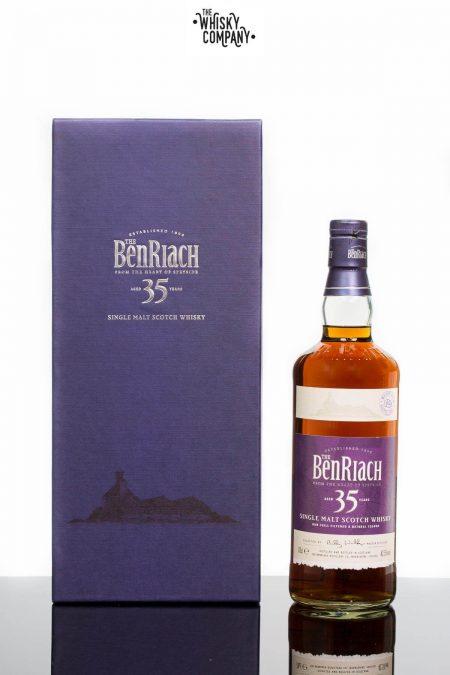 BenRiach Aged 35 Years Speyside Single Malt Scotch Whisky (700ml)