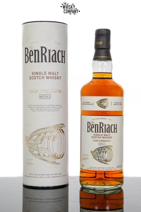 BenRiach Cask Strength Batch 2 Speyside Single Malt Scotch Whisky (700ml)
