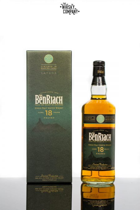 BenRiach Latada Aged 18 Years Peated Madeira Finished Single Malt Whisky (700ml)