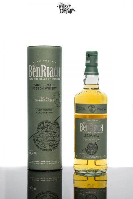 BenRiach Peated Quarter Cask Speyside Single Malt Scotch Whisky (700ml)