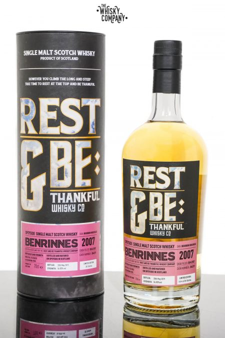 Benrinnes 2007Aged 12 Years Single Malt Scotch Whisky - Rest & Be Thankful (700ml)