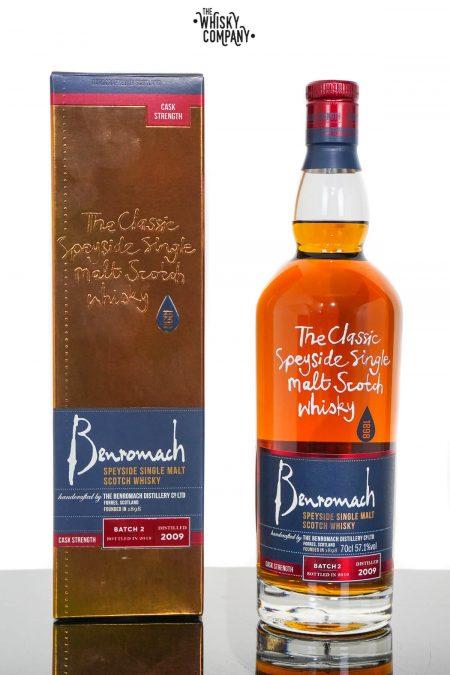 Benromach 2009 Cask Strength Batch 2 Speyside Single Malt Scotch Whisky (700ml)
