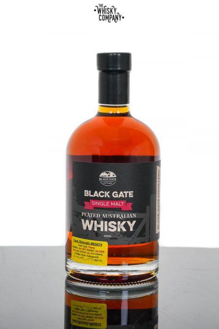 Black Gate Peated Cask Strength Australian Single Malt Whisky - Cask BG074 (500ml)