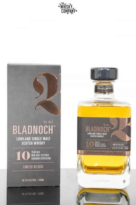 Bladnoch 10 Years Old Lowland Single Malt Scotch Whisky (700ml)