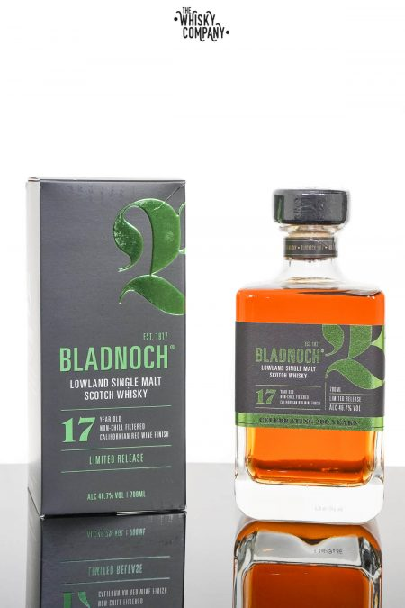 Bladnoch 17 Years Old Californian Red Wine Finish Single Malt Scotch Whisky (700ml)