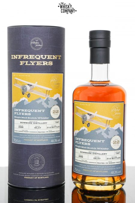 Bowmore 1997 Aged 22 Years Single Malt Scotch Whisky - Infrequent Flyers #18 (700ml)