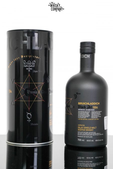 Bruichladdich 1994 Black Art Edition 7.1 Aged 25 Years Single Malt Scotch Whisky (700ml)
