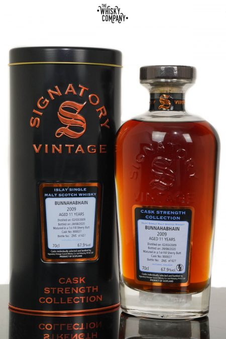 Bunnahabhain 2009 Aged 11 Years Old Single Malt Scotch Whisky - Signatory Vintage (700ml)