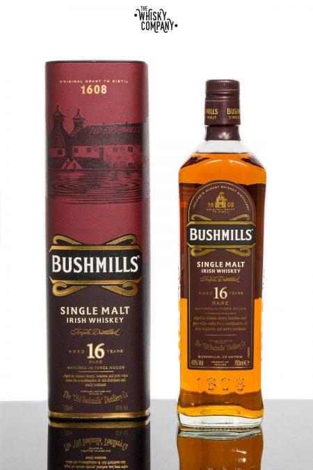 Bushmills Aged 16 Years Irish Single Malt Whiskey