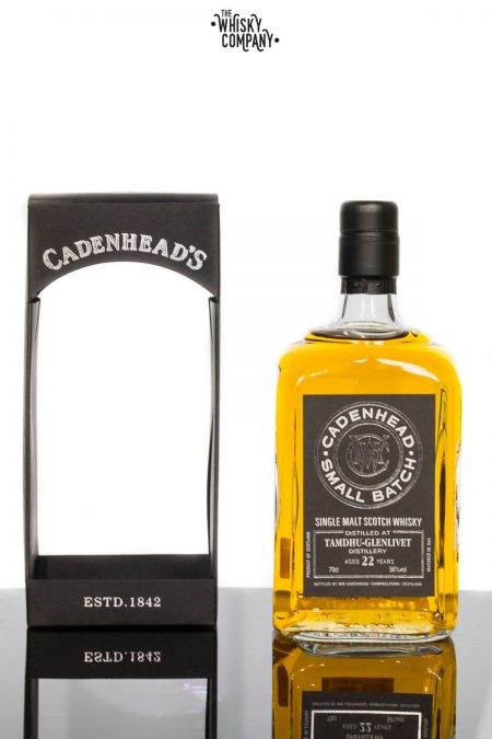 CADENHEAD'S 1991 TAMDHU AGED 22 YEARS SINGLE MALT SCOTCH WHISKY 700ML