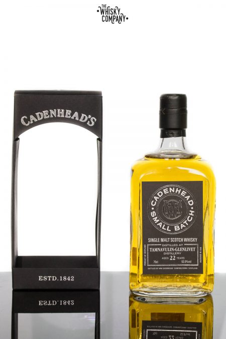 Cadenhead 1992 Tamnavulin-Glenlivet Aged 22 Years Single Malt Scotch Whisky 700ml