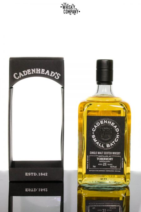 Cadenhead 1995 Tobermory Aged 21 Years Single Malt Scotch Whisky 700ml