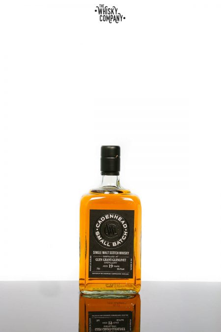 Cadenheads Glen Grant - Glenlivet Aged 19 Years Sherry Butt Speyside Single Malt Scotch Whisky